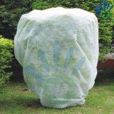 100% pp. Spunbonded nichtgewebtes Gewebe mit UV für die Landwirtschaft wie Weed-Steuermatte, Antigras-Tuch etc., Baum-Deckel/Schwarz-Vliesstoff
