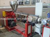 De zachte Vezel PVC/PVC vlechtte de Versterkte Uitdrijving die van de Pijp Machine maken