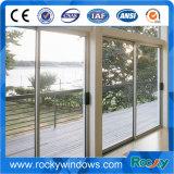 Fenêtre coulissante en aluminium revêtue en poudre Crescent Lock