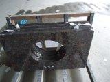 Dessus de vanité de granit de Tan Brown avec le bord soulagé
