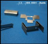 Clips estañados del acero del metal de hoja