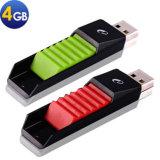 까만 상어 고무 USB 섬광 드라이브