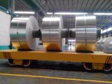 강철 공장은 가로장에 코일 이동 손수레를 적용했다