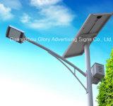 IP67 imperméabilisent le réverbère solaire de panneau solaire