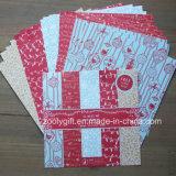 """Navidad DIY Scrapbooking 6X6"""" Paquete de papel con diseño hecho a mano de papel del libro de recuerdos"""