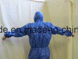 처분할 수 있는 방어적인 짠것이 아닌 의학 바디 한 벌 작업복 작업복