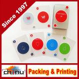 Cartes à jouer imprimées en PVC PVC personnalisées (430009)