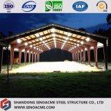Edifício comercial da construção de aço para a arena da equitação