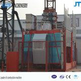 Alzamiento caliente 2017 de la construcción de la jaula los 50m del doble de la carga de las exportaciones Sc200/200 2t de China alto