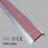 Serie antiscorrimento di alluminio dell'articolo della striscia di protezione delle scale