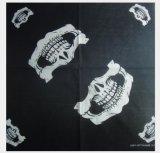 La conception du crâne de coton cycliste Multi foulard carré