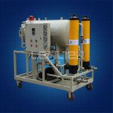 棺衣の凝結によって水分を取り除かれる油純化器