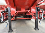 반 3개의 차축 38cbm 대량 분말 물자 Transportor 유조 트럭 트레일러