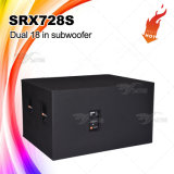 "Неодимий Srx728s удваивает коробка диктора 18 "" Subwoofer"
