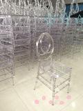 Claro Cristal Transparente resina PC Phoenix silla de plástico