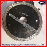 175mm 다이아몬드는 대리석 화강암 또는 도기 타일 또는 장기 사용 또는 높은 Efficency를 위해 톱날을