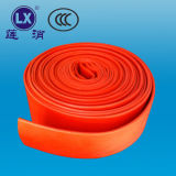 Prodotti unici del tubo flessibile dell'unità di elaborazione di prezzi del tubo flessibile Braided del PVC Layflat per vendere tubo flessibile rosso