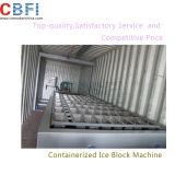 De fabrikant Containerized Installatie van de Machine van het Ijs van het Blok