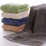 100%年の綿タオルの浴室手の床面タオルの製造業者(TOW-004)