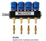 Rampa de inyección de gas combustible para kits de inyección secuencial