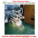 Christmas Holiday Party Decorationのための美しいDeer LED Motif Light Use