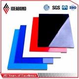 El panel compuesto plástico de aluminio 2017 del tratamiento superficial del poliester de Ideabond