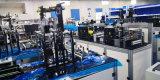 Automatische Drei-Schicht Ein-Fahren-Zwei flache Schablonen-Maschine