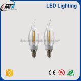 candela di e14 LED, lampadina incandescente del rimontaggio della lampada di coda del LED per alloggiamento