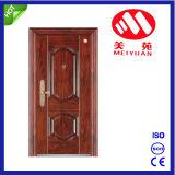 外面のための最新の主要な鋼鉄機密保護のドアデザイン