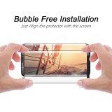 Perfeccionar el protector cómodo curvado 3D de la pantalla del teléfono móvil del caso del diseño para Samsung S8/S8 más