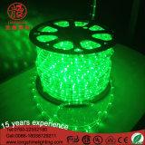 Indicatore luminoso di striscia flessibile rotondo 13mm della corda dei 2 collegare del LED 220V 10mm per la decorazione
