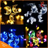 30LED en forme de lune Chaîne solaire Light Fairy Christmas Tree Lights