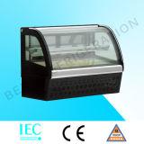 Коммерчески холодильник витрины индикации торта Countertop