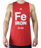 Mouwloos onderhemd van Bodybuilding van de Spier van mensen het Nieuwe in Rood