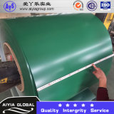 A bobina de aço de PPGI/Prepainted a bobina de aço galvanizada/a telhadura de aço revestida cor de aço