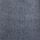 Heißer Verkauf gesponnenes Muster-Handtaschen-Leder (FS702)