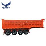 de Semi Aanhangwagen van de Stortplaats van de Vrachtwagen van de Kipper van de Doos van het Vervoer van de Steenkool 50tons 60tons