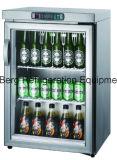 反対冷却装置の下でより冷たいクーラーのレストラン棒ワイン・ボトルの缶を飲む