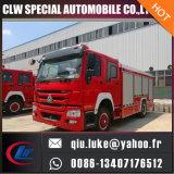 Camion dei vigili del fuoco del serbatoio di acqua di HOWO 12000L