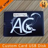 선물 주석 상자 (YT-3101)를 가진 주문 신용 카드 USB 플래시 디스크