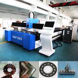 Câmara de ar e folha do cortador do laser através da máquina de estaca do laser da fibra