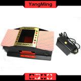 Shuffler automatique duel normal de carte de tisonnier pour 2 jeux de cartes de jeu de paquet Ym-CS02