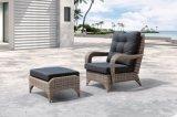 Le sofa extérieur en osier de bureau d'hôtel de maison de salon de Lanzarote de jardin de meubles de patio a placé (J288)