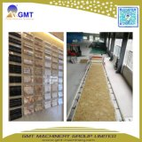 Ligne en plastique artificielle d'extrusion de panneau de mur de feuille de marbre de Faux de PVC