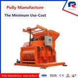Производство Zhaoyang Pully электродвигателя парных вала большой миксер (JS500-JS1500)