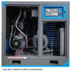 30HP Ce&ISO anerkannte variable Frequenz-riemengetriebener Schrauben-Kompressor