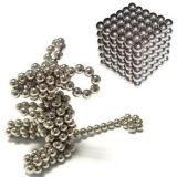 esferas magnéticas do cubo neo de prata de 5mm 3mm Buckyball