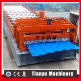 Le toit de tuile glacé par fournisseur de la Chine laminent à froid former la machine