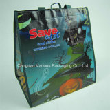 Sacchetto non tessuto laminato, sacchetto riciclato, sacchetto promozionale, sacchetto di Cnavas, sacchetto di Tote del cotone, sacchetto di acquisto (MX-BG1065)