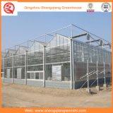 Дом листа цветка/плодоовощ/поликарбоната овощей растущий зеленая с системой навеса